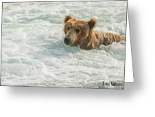 Ahh Whirlpool Time Greeting Card
