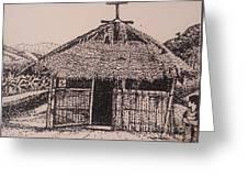 Ahka Village Church Greeting Card