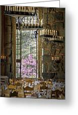 Ahwahnee Hotel--main Dining Room Greeting Card