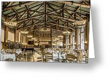 Ahwahnee Dining Room Greeting Card