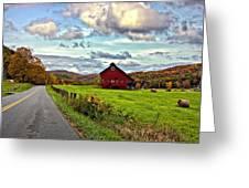 Ah...west Virginia Greeting Card by Steve Harrington