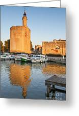 Aigues-mortes  Languedoc-roussillon France Constance Tower Greeting Card