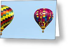 Air Balloons  0208 Greeting Card