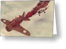 Air Combat Greeting Card