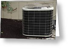 Air Conditioner Greeting Card