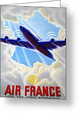 Air France Greeting Card