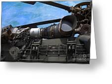 Air - Helicopter - Ch-54 Skycrane - Tarhe  Greeting Card