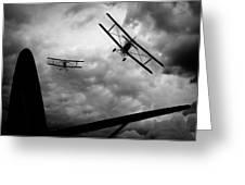 Air Pursuit Greeting Card