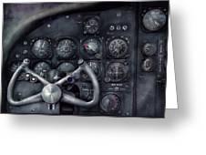 Air - The Cockpit Greeting Card