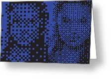 Aj003 Tnm Greeting Card