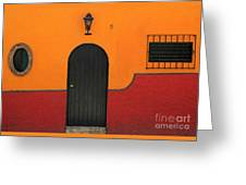 Ajijic Door No.4 Greeting Card