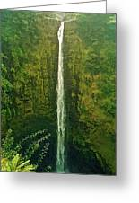 'akaka Falls Greeting Card