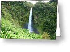 Akaka Falls Greeting Card