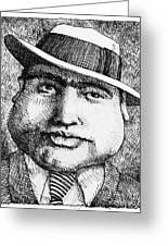 Al Capone 1931 Greeting Card