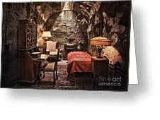 Al Capone's Cell Greeting Card