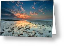 Al Hamra Sunset Greeting Card