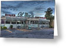 Al Mac's Diner Greeting Card