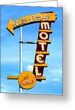 Ala Cozy Motel Greeting Card