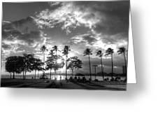Ala Moana Beach Park Greeting Card