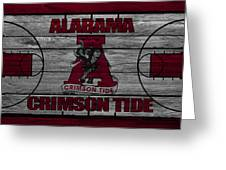 Alabama Crimson Tide Greeting Card by Joe Hamilton