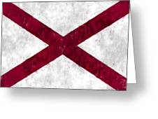 Alabama Flag Greeting Card