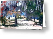 Alabama Fort Jackson Greeting Card