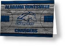 Alabama Huntsville Chargers Greeting Card
