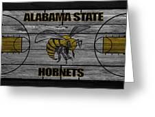 Alabama State Hornets Greeting Card