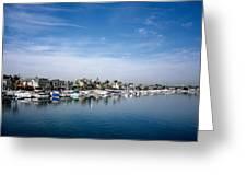 Alamito Bay Marina Greeting Card