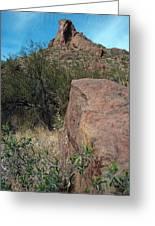 Alamo Canyon Hike Greeting Card