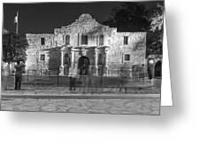 Alamo In Texas  Greeting Card