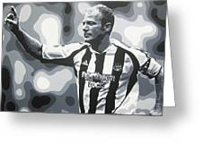 Alan Shearer - Newcastle United Fc Greeting Card