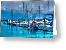 Alaska Boats Greeting Card