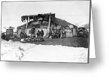 Alaska Eskimos, C1898 Greeting Card