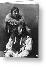 Alaska Eskimos, C1903 Greeting Card