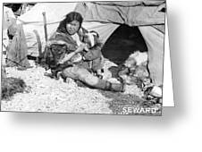 Alaska Eskimos, C1907 Greeting Card