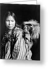 Alaska Eskimos, C1912 Greeting Card