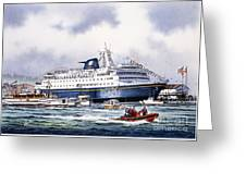 Alaska Ferry Greeting Card