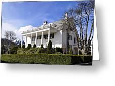 Alaska Governors Mansion Greeting Card
