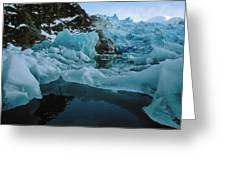 Alaska Iceberg Greeting Card