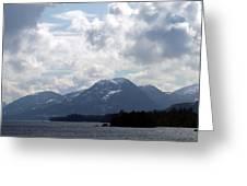 Alaska Inside Passage Greeting Card