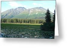 Alaska Lake 2 Greeting Card