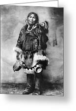 Alaska Mother And Child Greeting Card