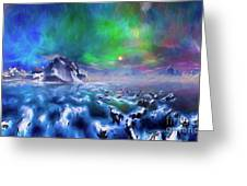 Alaska Northern Lights  Greeting Card