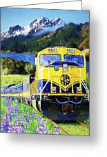 Alaska Railroad Greeting Card