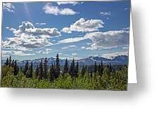 Alaska Range IIi Greeting Card