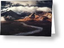 Alaska Range Greeting Card
