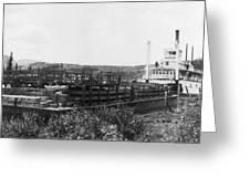 Alaska Riverboat Greeting Card
