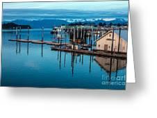 Alaska Seaplanes Greeting Card by Mike Reid
