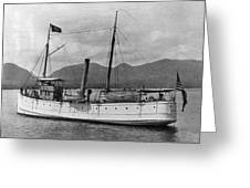 Alaska Steamboat Greeting Card